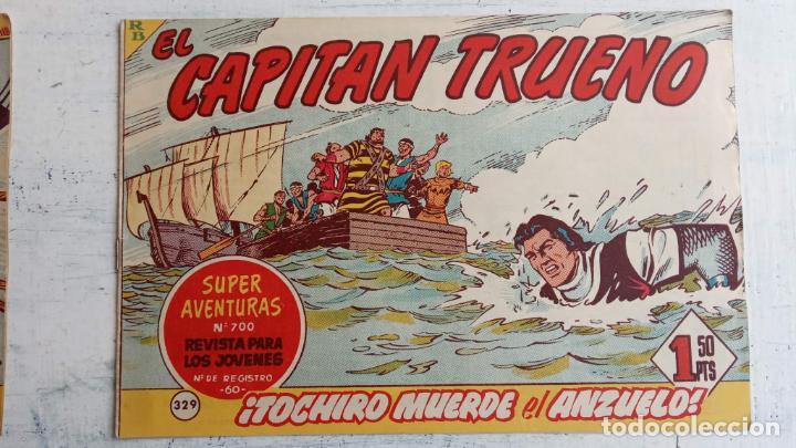 Tebeos: EL CAPITÀN TRUENO ORIGINAL AÑO 1956 COMPLETA Y SUELTA 1 AL 618 - VER TODAS LAS PORTADAS, MUY BUENA - Foto 707 - 204841075