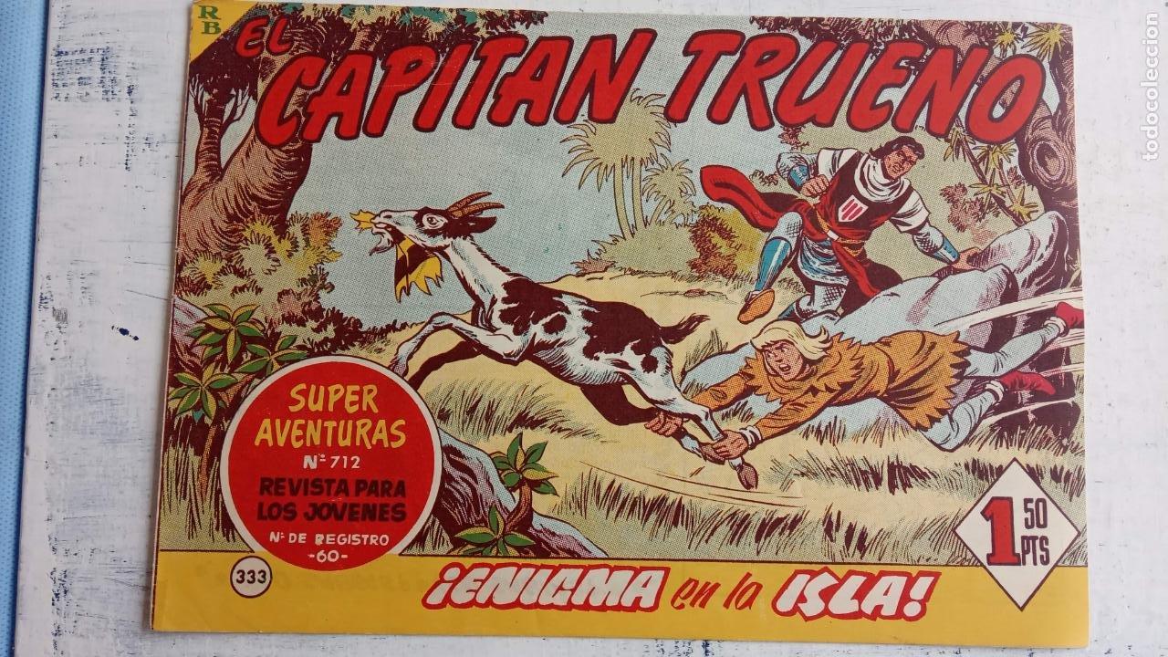 Tebeos: EL CAPITÀN TRUENO ORIGINAL AÑO 1956 COMPLETA Y SUELTA 1 AL 618 - VER TODAS LAS PORTADAS, MUY BUENA - Foto 710 - 204841075