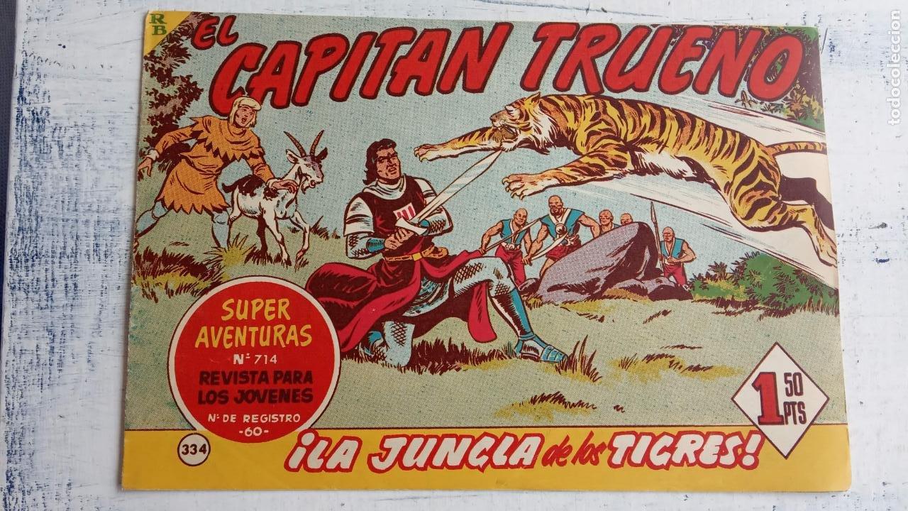 Tebeos: EL CAPITÀN TRUENO ORIGINAL AÑO 1956 COMPLETA Y SUELTA 1 AL 618 - VER TODAS LAS PORTADAS, MUY BUENA - Foto 711 - 204841075