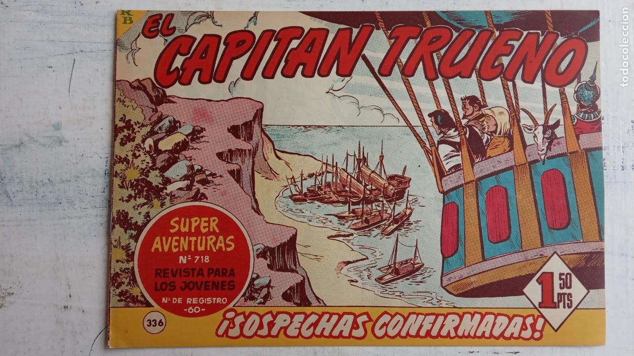 Tebeos: EL CAPITÀN TRUENO ORIGINAL AÑO 1956 COMPLETA Y SUELTA 1 AL 618 - VER TODAS LAS PORTADAS, MUY BUENA - Foto 713 - 204841075