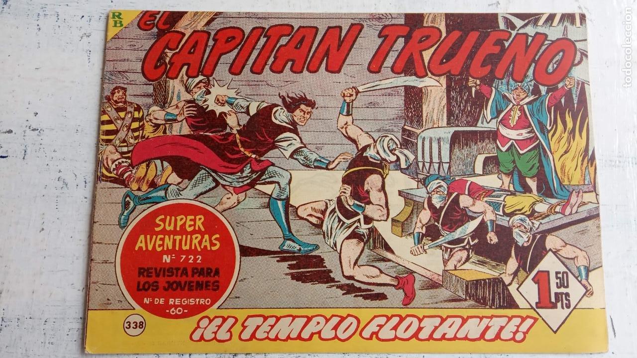 Tebeos: EL CAPITÀN TRUENO ORIGINAL AÑO 1956 COMPLETA Y SUELTA 1 AL 618 - VER TODAS LAS PORTADAS, MUY BUENA - Foto 715 - 204841075
