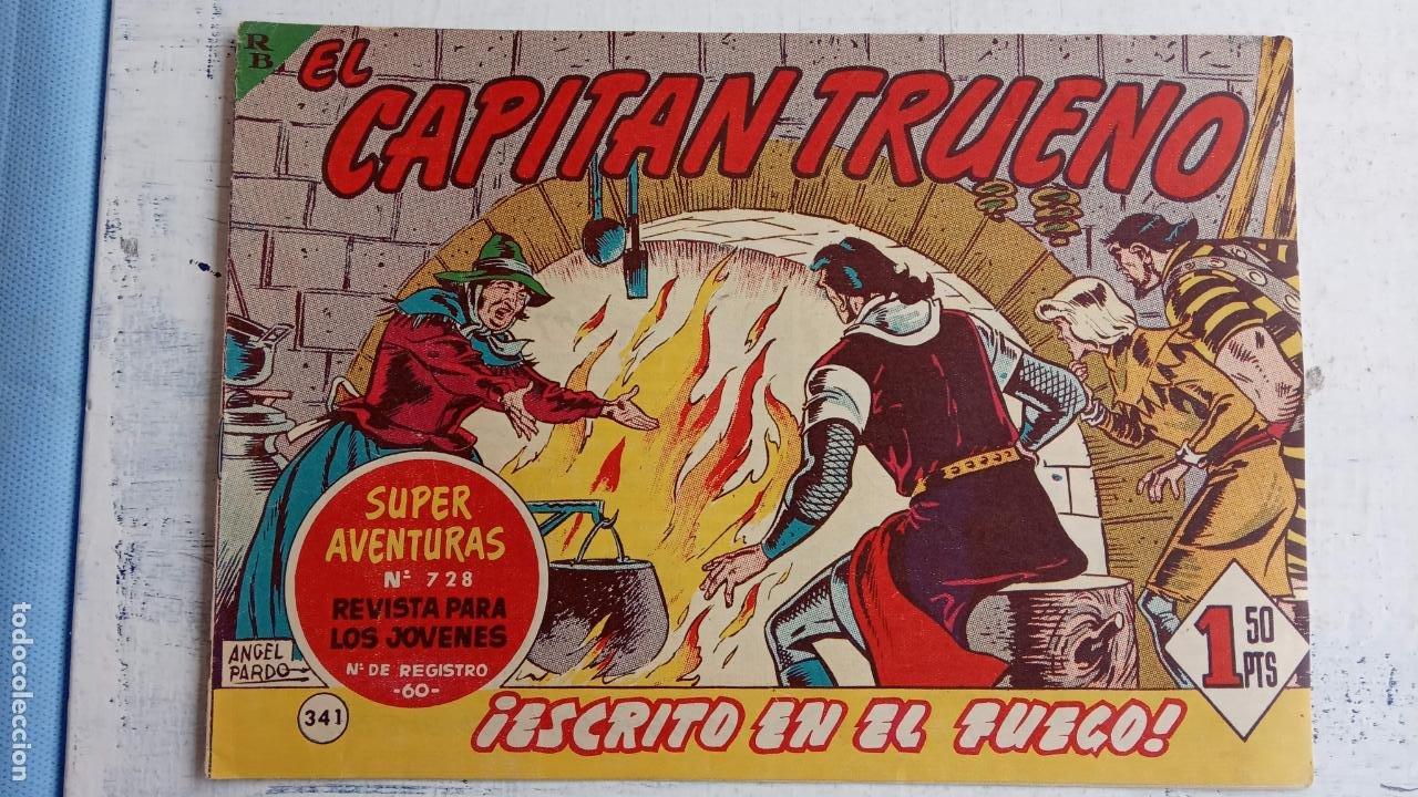Tebeos: EL CAPITÀN TRUENO ORIGINAL AÑO 1956 COMPLETA Y SUELTA 1 AL 618 - VER TODAS LAS PORTADAS, MUY BUENA - Foto 718 - 204841075