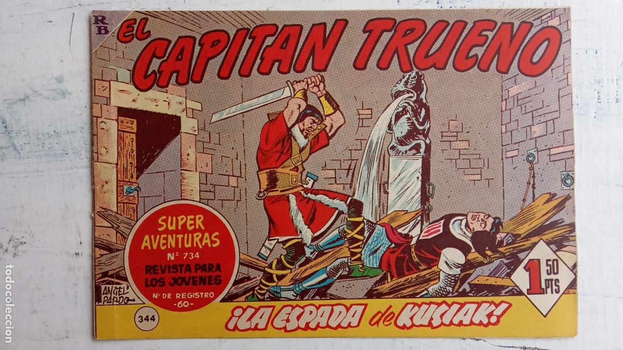 Tebeos: EL CAPITÀN TRUENO ORIGINAL AÑO 1956 COMPLETA Y SUELTA 1 AL 618 - VER TODAS LAS PORTADAS, MUY BUENA - Foto 721 - 204841075