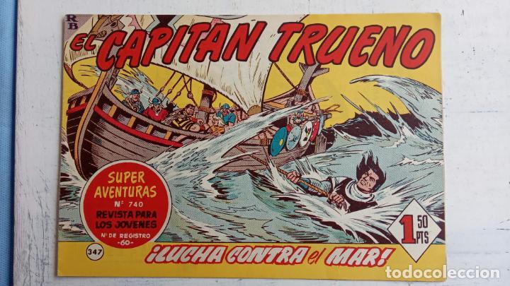 Tebeos: EL CAPITÀN TRUENO ORIGINAL AÑO 1956 COMPLETA Y SUELTA 1 AL 618 - VER TODAS LAS PORTADAS, MUY BUENA - Foto 724 - 204841075