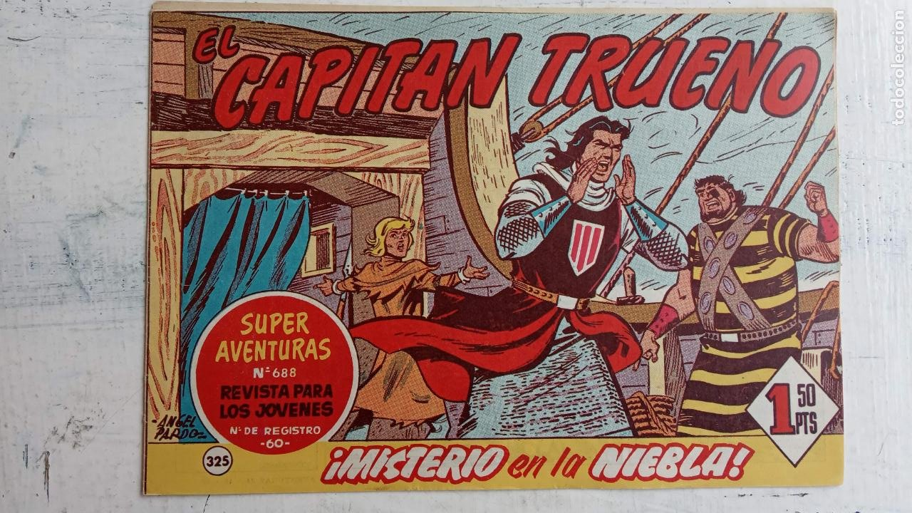 Tebeos: EL CAPITÀN TRUENO ORIGINAL AÑO 1956 COMPLETA Y SUELTA 1 AL 618 - VER TODAS LAS PORTADAS, MUY BUENA - Foto 726 - 204841075