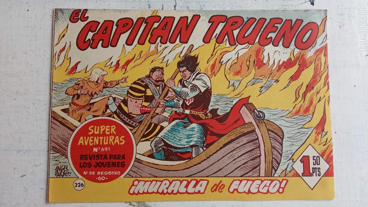 Tebeos: EL CAPITÀN TRUENO ORIGINAL AÑO 1956 COMPLETA Y SUELTA 1 AL 618 - VER TODAS LAS PORTADAS, MUY BUENA - Foto 727 - 204841075