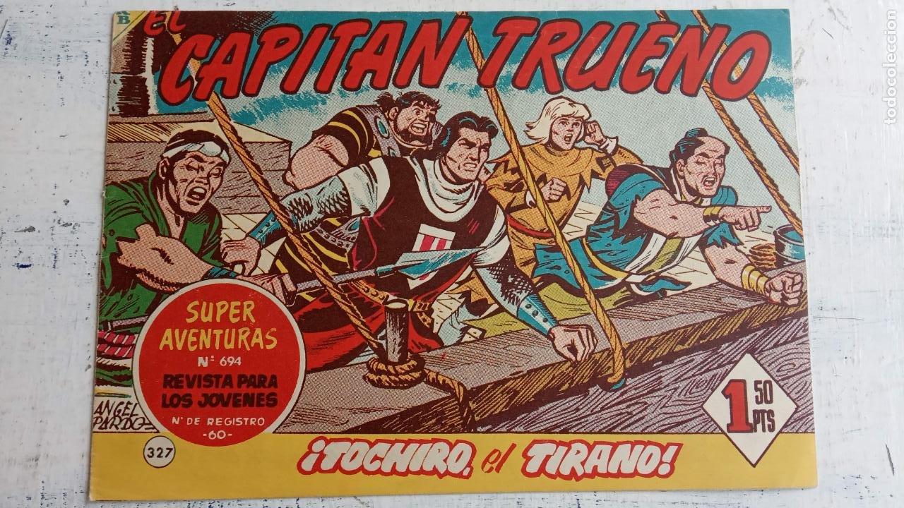 Tebeos: EL CAPITÀN TRUENO ORIGINAL AÑO 1956 COMPLETA Y SUELTA 1 AL 618 - VER TODAS LAS PORTADAS, MUY BUENA - Foto 728 - 204841075