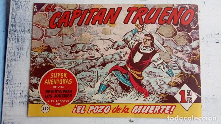 Tebeos: EL CAPITÀN TRUENO ORIGINAL AÑO 1956 COMPLETA Y SUELTA 1 AL 618 - VER TODAS LAS PORTADAS, MUY BUENA - Foto 734 - 204841075
