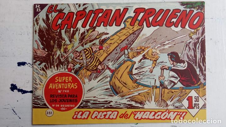 Tebeos: EL CAPITÀN TRUENO ORIGINAL AÑO 1956 COMPLETA Y SUELTA 1 AL 618 - VER TODAS LAS PORTADAS, MUY BUENA - Foto 735 - 204841075