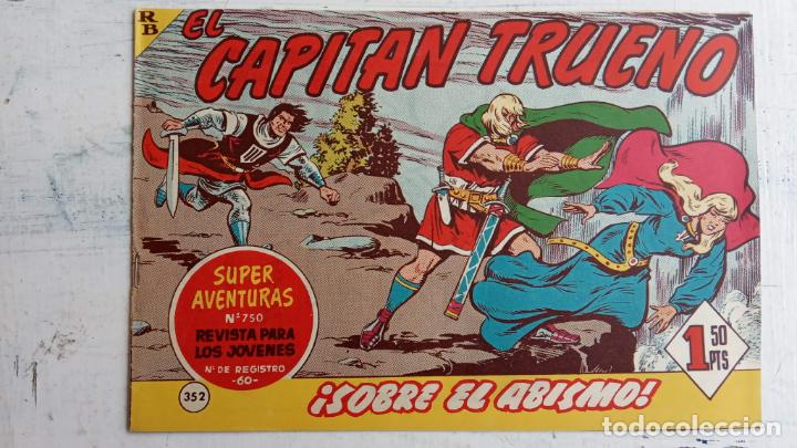 Tebeos: EL CAPITÀN TRUENO ORIGINAL AÑO 1956 COMPLETA Y SUELTA 1 AL 618 - VER TODAS LAS PORTADAS, MUY BUENA - Foto 736 - 204841075