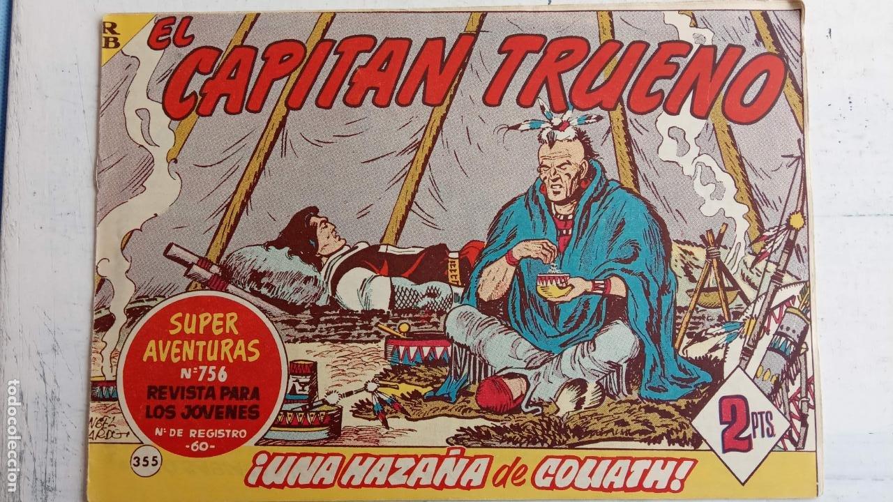 Tebeos: EL CAPITÀN TRUENO ORIGINAL AÑO 1956 COMPLETA Y SUELTA 1 AL 618 - VER TODAS LAS PORTADAS, MUY BUENA - Foto 739 - 204841075