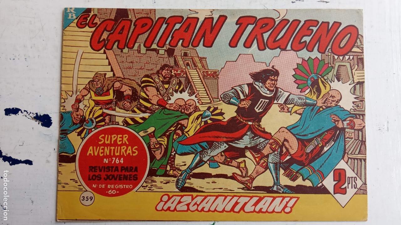 Tebeos: EL CAPITÀN TRUENO ORIGINAL AÑO 1956 COMPLETA Y SUELTA 1 AL 618 - VER TODAS LAS PORTADAS, MUY BUENA - Foto 744 - 204841075