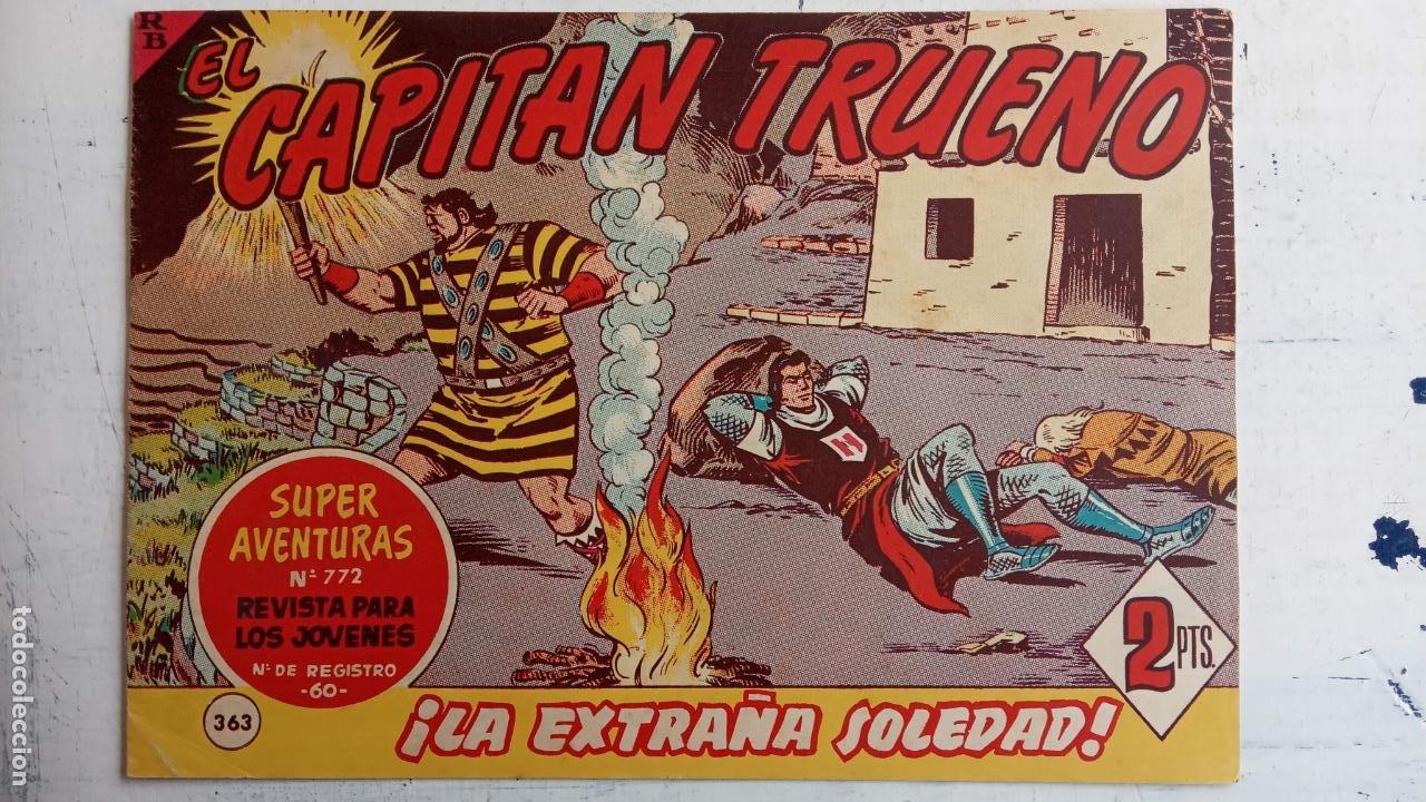 Tebeos: EL CAPITÀN TRUENO ORIGINAL AÑO 1956 COMPLETA Y SUELTA 1 AL 618 - VER TODAS LAS PORTADAS, MUY BUENA - Foto 748 - 204841075