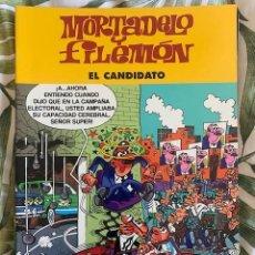 Tebeos: MORTADELO Y FILEMON - EL CANDIDATO - 1º EDICION 2003 IBAÑEZ. Lote 205012497