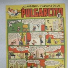 Tebeos: LOTE PULGARCITO / 4 EJEMPLARES / MUY BUEN ESTADO / BRUGUERA. Lote 205026215