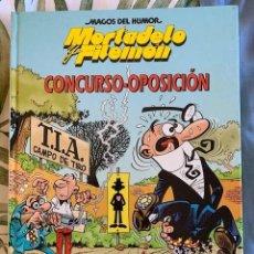 Tebeos: MORTADELO Y FILEMON- MAGOS DEL HUMOR - CONCURSO OPOSICIÓN - TAPA DURA - CIRCULO DE LECTORES - 1994. Lote 205029157
