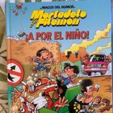 Tebeos: MORTADELO Y FILEMON- MAGOS DEL HUMOR - A POR EL NIÑO - TAPA DURA - CIRCULO DE LECTORES - 1994. Lote 205029241