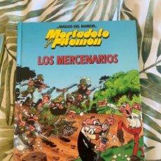 Tebeos: MORTADELO Y FILEMON- MAGOS DEL HUMOR - LOS MERCENARIOS - TAPA DURA - CIRCULO DE LECTORES - 1994. Lote 205029465