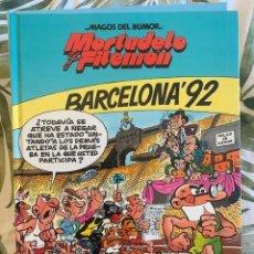 Tebeos: MORTADELO Y FILEMON- MAGOS DEL HUMOR - BARCELONA 92 - TAPA DURA - CIRCULO DE LECTORES - 1994. Lote 205029816