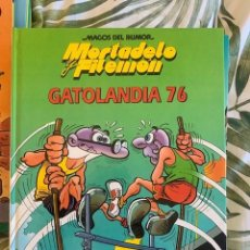 Tebeos: MORTADELO Y FILEMON- MAGOS DEL HUMOR - GATOLANDIA 76 - TAPA DURA - CIRCULO DE LECTORES - 1994. Lote 205030140