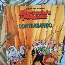 Tebeos: MORTADELO Y FILEMON- MAGOS DEL HUMOR - CONTRABANDO - TAPA DURA-CIRCULO DE LECTORES - 1994. Lote 205031237
