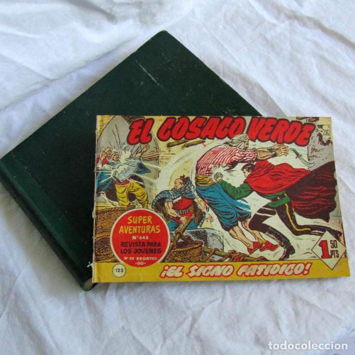 66 NÚMEROS DE EL COSACO VERDE, ENCUADERNADOS 1961 (Tebeos y Comics - Bruguera - Cosaco Verde)