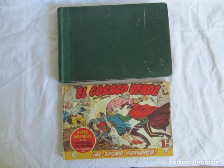 Tebeos: 66 números de El Cosaco Verde, encuadernados 1961 - Foto 2 - 205042187