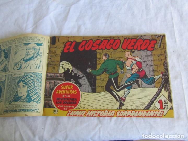 Tebeos: 66 números de El Cosaco Verde, encuadernados 1961 - Foto 5 - 205042187