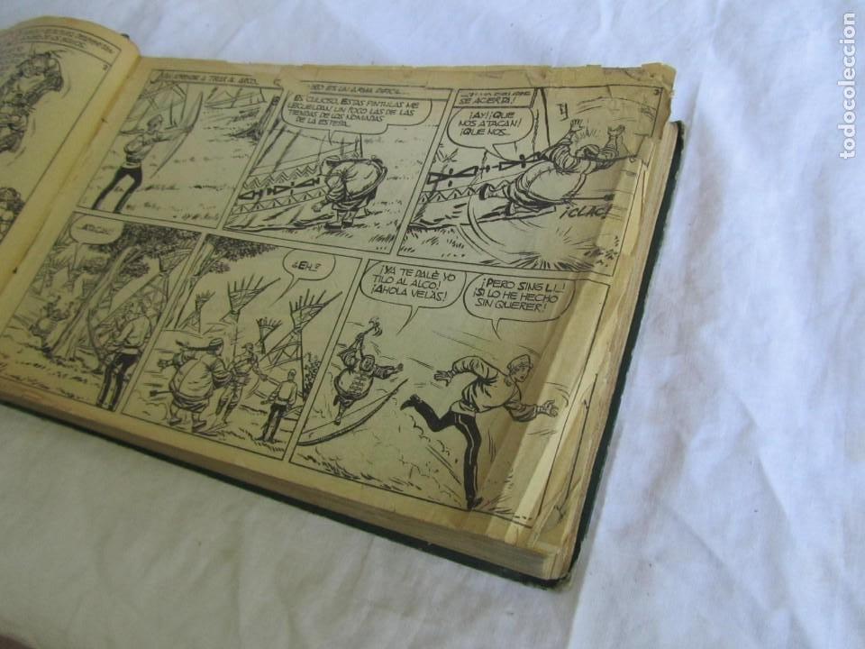 Tebeos: 66 números de El Cosaco Verde, encuadernados 1961 - Foto 11 - 205042187