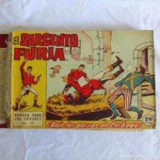 Tebeos: 35 NÚMEROS DE SARGENTO FURIA, DE Nº 2 AL 36, 1962. Lote 205042687