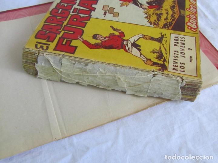Tebeos: 35 números de Sargento Furia, de nº 2 al 36, 1962 - Foto 5 - 205042687