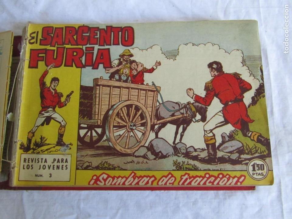 Tebeos: 35 números de Sargento Furia, de nº 2 al 36, 1962 - Foto 7 - 205042687