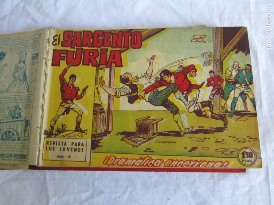 Tebeos: 35 números de Sargento Furia, de nº 2 al 36, 1962 - Foto 8 - 205042687