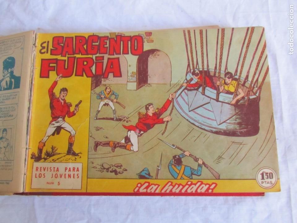 Tebeos: 35 números de Sargento Furia, de nº 2 al 36, 1962 - Foto 9 - 205042687