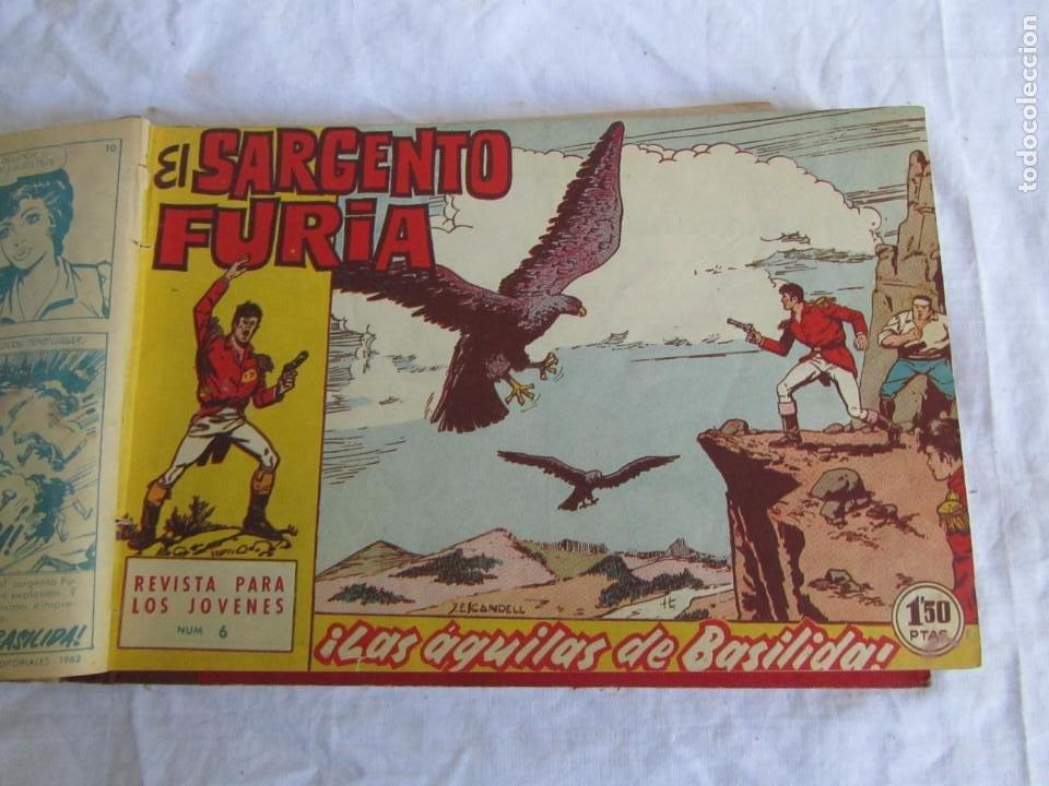 Tebeos: 35 números de Sargento Furia, de nº 2 al 36, 1962 - Foto 10 - 205042687