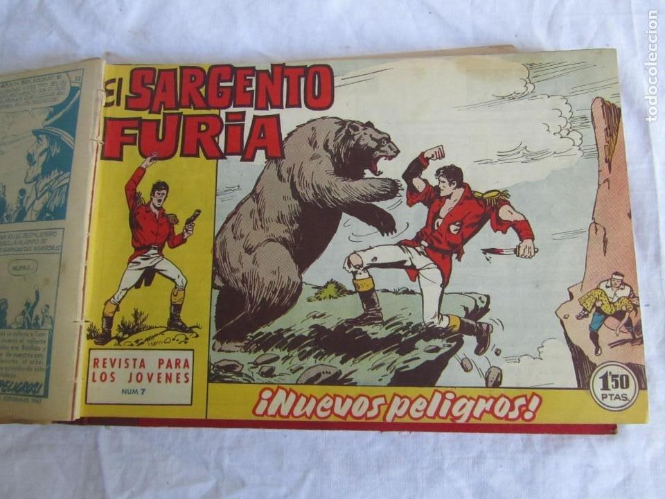 Tebeos: 35 números de Sargento Furia, de nº 2 al 36, 1962 - Foto 11 - 205042687