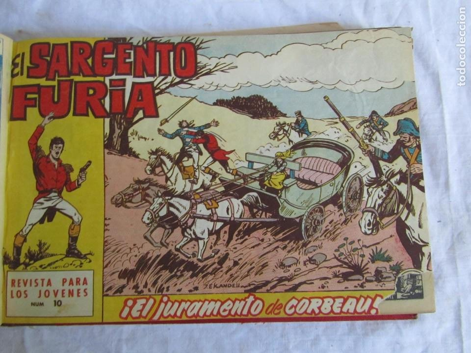 Tebeos: 35 números de Sargento Furia, de nº 2 al 36, 1962 - Foto 13 - 205042687