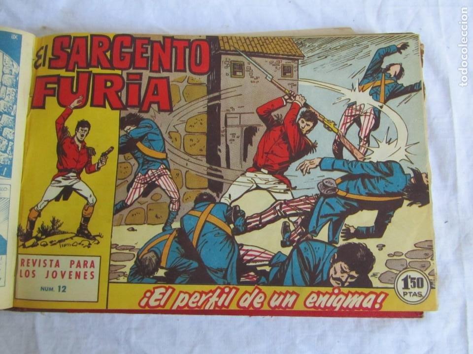 Tebeos: 35 números de Sargento Furia, de nº 2 al 36, 1962 - Foto 14 - 205042687