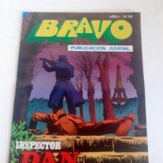 Tebeos: TEBEO BRAVO 1976 EDITORIAL BRUGUERA INSPECTOR DAN EL ASESINO FANTASMA Nº 82 41. Lote 205043631