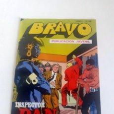 Tebeos: TEBEO BRAVO 1976 EDITORIAL BRUGUERA INSPECTOR DAN EL MUSEO DE LOS HORRORES Nº 68 34. Lote 205044190