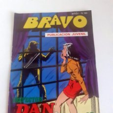Tebeos: TEBEO BRAVO 1976 EDITORIAL BRUGUERA INSPECTOR DAN CONTRA FU-MANCHU Nº 60 30. Lote 205044777