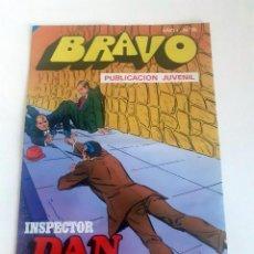 Tebeos: TEBEO BRAVO 1976 EDITORIAL BRUGUERA INSPECTOR DAN LA RUTA DE LAS TINIEBLAS Nº 76 38. Lote 205045322