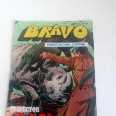Tebeos: TEBEO BRAVO 1976 EDITORIAL BRUGUERA INSPECTOR DAN PELIGRO EN LA CIUDAD Nº 70 35. Lote 205046541