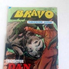 Tebeos: TEBEO BRAVO 1976 EDITORIAL BRUGUERA INSPECTOR DAN PELIGRO EN LA CIUDAD Nº 70 35. Lote 205046783