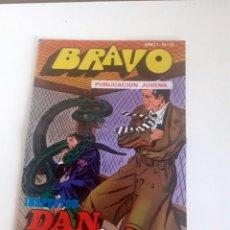 Tebeos: TEBEO BRAVO 1976 EDITORIAL BRUGUERA INSPECTOR DAN FIERAS AL ACECHO Nº 72 36. Lote 205048195