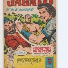 Tebeos: JABATO EXTRA DE VACACIONES PARA 1961. Lote 205061457