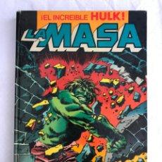 Tebeos: EL INCREIBLE HULK - LA MASA - TOMO 1 - NºS. 1-2-3-8-6 - ED. BRUGUERA - 1982. Lote 205063662