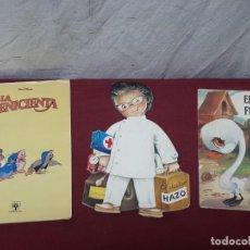 Tebeos: LOTE 3 CUENTOS... LA CENICIENTA (1990). DOCTOR MAZO (1978) Y EL PATITO FEO (1977). Lote 205071395