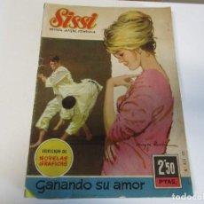 Tebeos: REVISTA JUVENIL FEMENINA SISSI GANANDO SU AMOR. Lote 205073613