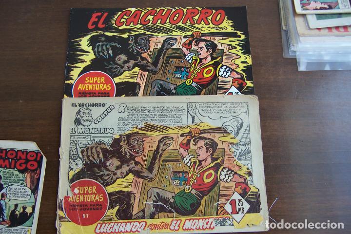 BRUGURERA EL CACHORRO Nº 158 ES SUPERAVENTURAS Nº 1 (Tebeos y Comics - Bruguera - El Cachorro)